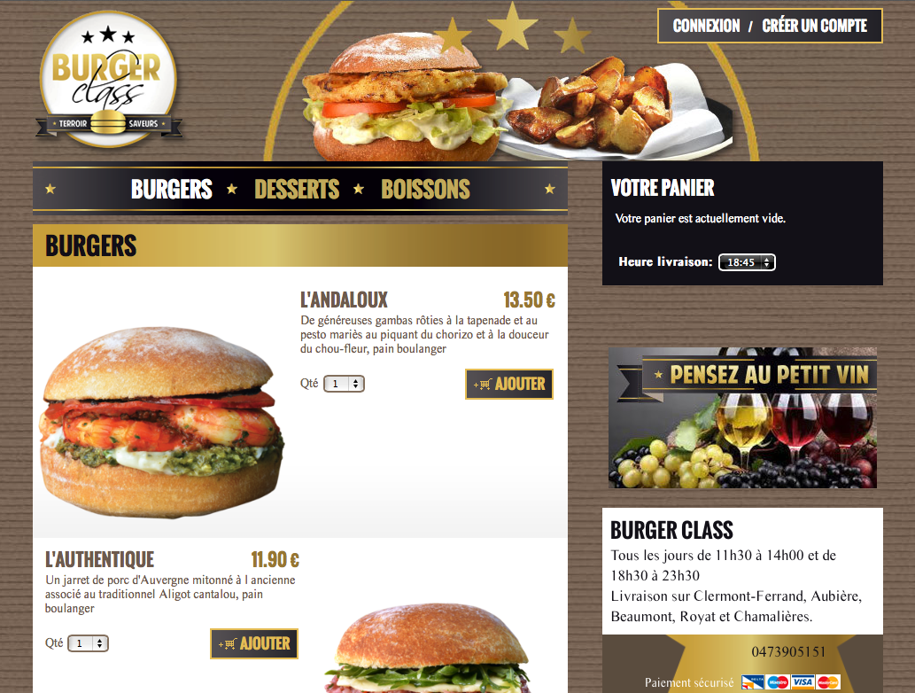 LP-blog-site-sur-mesure-burger-class
