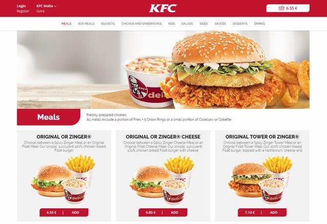 KFC_Malta_Portfolio