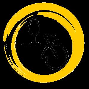 logo-symbole-bicyclette-jaune