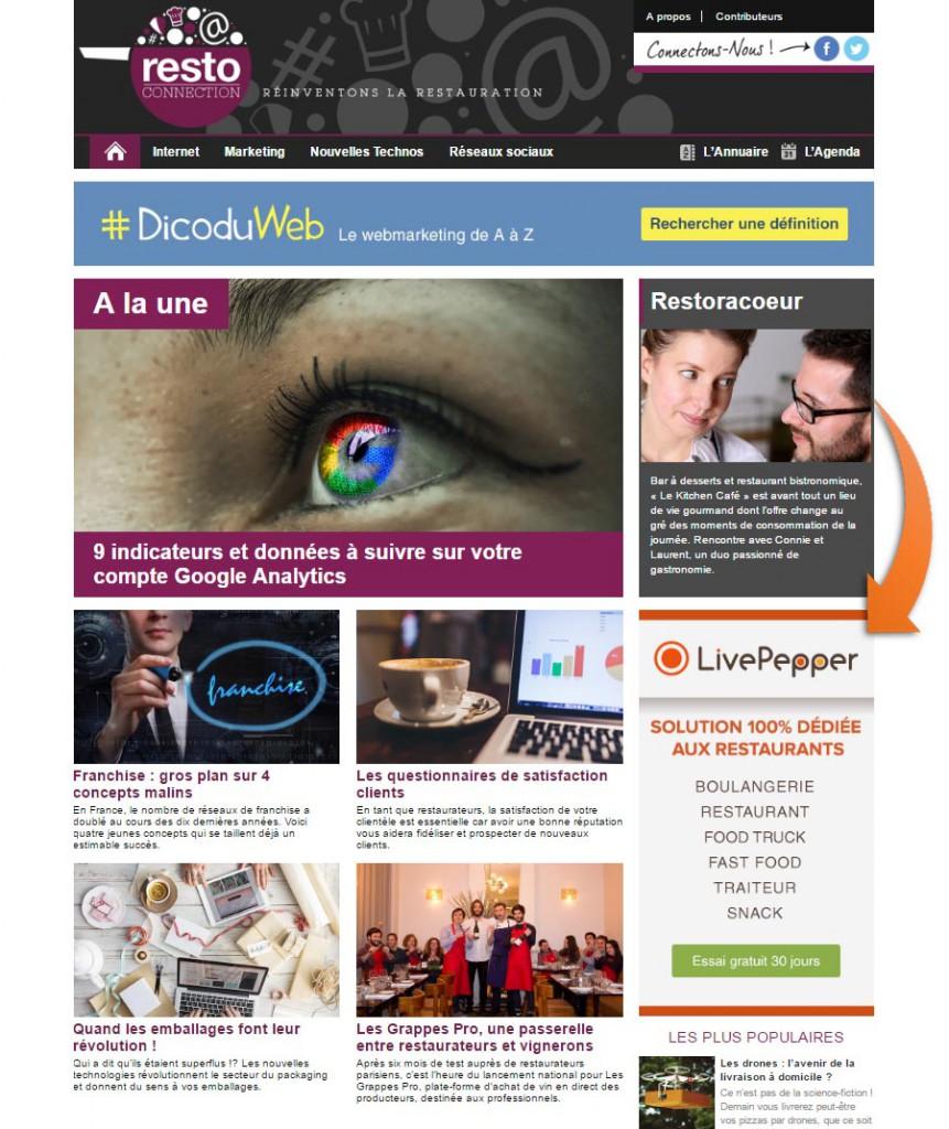 page-restoconnection-publicite-magazine