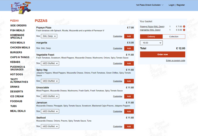 commande-en-ligne-restaurant-1st-direct-pizza-ecosse