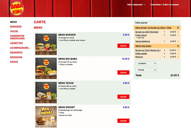 Baba King_portfolio_livepepper_commande_en_ligne_restaurant