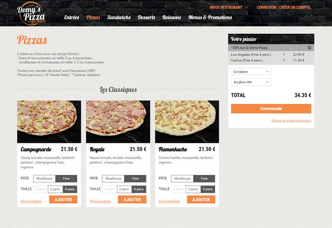 commande-en-ligne-restaurant-Domy's-Pizza
