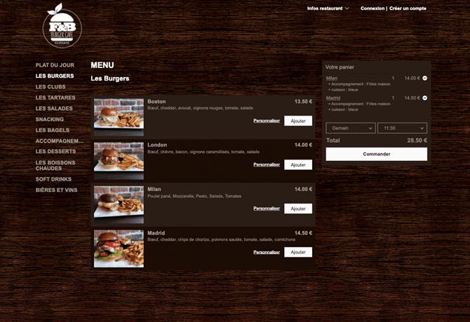 F_B Burger_portfolio_livepepper_commande_en_ligne