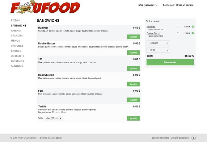 commande-en-ligne-restaurant-foufood-saintes