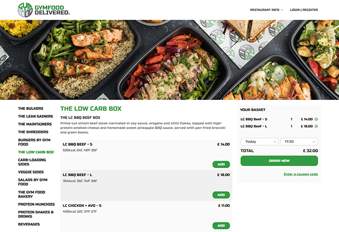 Gym-Food_portfolio_online_ordering
