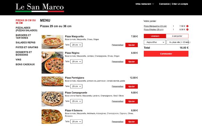 Le San Marco_portfolio_livepepper_commande_en_ligne