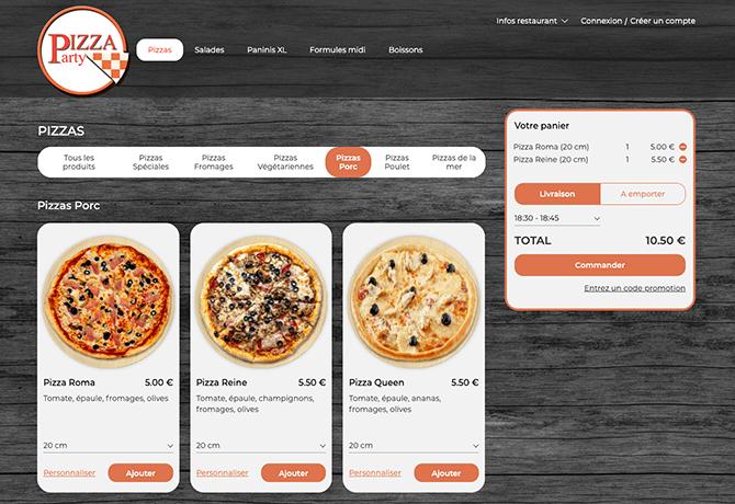 Pizza_Party_portfolio_commande_en_ligne_livepepper_restaurant