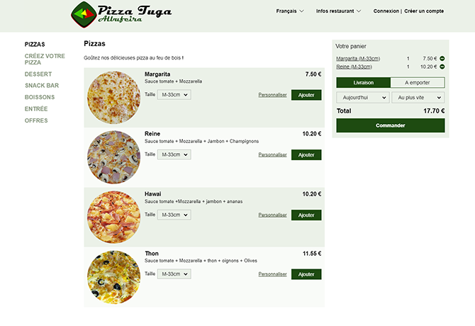 commande-en-ligne-restaurant-Pizza-Tuga-portugal