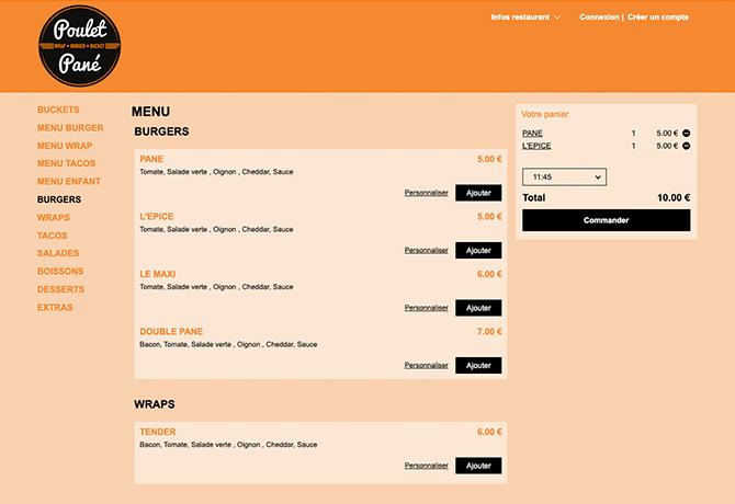 poulet_pane_portfolio_livepepper_commande_en_ligne_restaurant