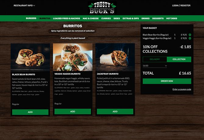 Trusty_Bucks_portfolio_livepepper_commande_en_ligne_restaurant